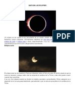 Qué Son Los Eclipses