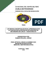 TESIS FINAL POSGRADO EDUCACIÓN - LOS MAPAS CONCEPTUALES EN EL APRENDIZAJE DE LA FUNCIÓN DE NUTRICIÓN EN ESTUDIANTES DE SECUNDARIA DE LIRCAY - HUANCAVELICA.doc