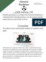 Laser 1w 445nm Manual