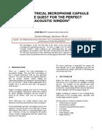 AES - Acoustic Window Mics