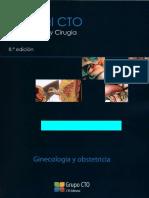 Manual CTO 8va Edicion - Ginecologia y Obstetricia