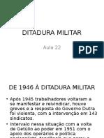 Hd Aula 22 Ditadura Militar