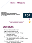 Cleaning Validation Lifecycle Approach