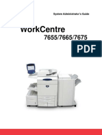 Xerox WC-7655-7665-7675 Networking