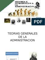 Teorias Generales de La Administracion