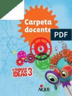 La Fabrica de Ideas 3 Carpeta Docente