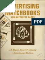 Advertising Matchbooks