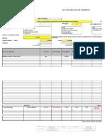 P0287 - F002 Autorización de Ingreso (KSB, 2016)