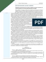 ORDEN ECD-701-2016, 30 de Junio, Se Regulan Ciclos Formativos FPB