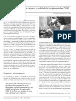 Politicas Para Mejorar La Parte Laboral de Las Pymes