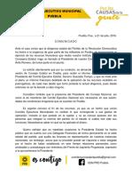 Comunicado PRD