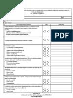 Formato de Revisión de Eess Segun Rcd-osinergmin n042-2016-Os-CD (F-Insol-0001_v2)