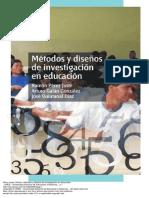 Metodos y diseños de investigacion en educacion libro