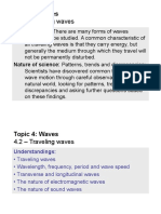 Topic 4.2 - Traveling Waves