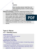 Topic 4.5 - Standing Waves