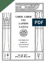 LIBER VEL LAPIDIS LAZULI (VII)