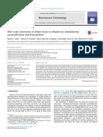 Pilot Scale Conversion of Wheat Straw to Ethanol via Simultaneous Saccharification and Fermentation (Saha 2015)