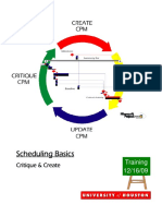 Microsoft Project Scheduling Manual