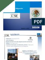 Presentacion Generalidades Ley Migracion
