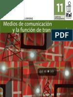 Medios de Comunicación y La Función de Transparencia