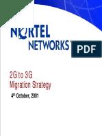 Nortel Networks 2g to 3g Migration