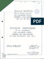 Calculo Estatico 150m Waagner Biro