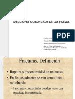 6. Pq II. Afecciones Quirúrgicas de Los Huesos