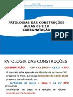 Carbonatação - AULA 9,10