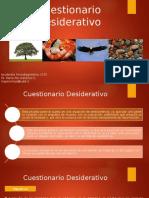Interpretación Cuestionario Desiderativo