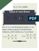 08 Equacoes de Cauchy-Riemann