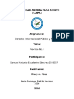 Practica I derecho internacional publico