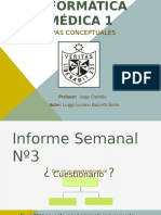 Informática Médica LUIGGILUCIANO