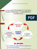 Gobierno Regionales y Locales 2016 1