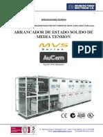 Especificaciones Tecnicas 500 HP SS 4160 V