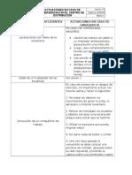 Actuaciones en Caso de Emergencia CEDI
