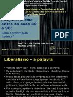 (Neo)Liberalismo x Desenvolvimentismo - Algumas Definições
