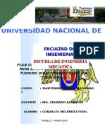 PLAN DE MANTENIMIENTO PREVENTIVO PARA LA EMPRESA DE TRASPORTES TURISMO DIRECTO ASEGURADO SA.docx