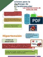 Reduccion de riesgo de enfermedad cardiovascular