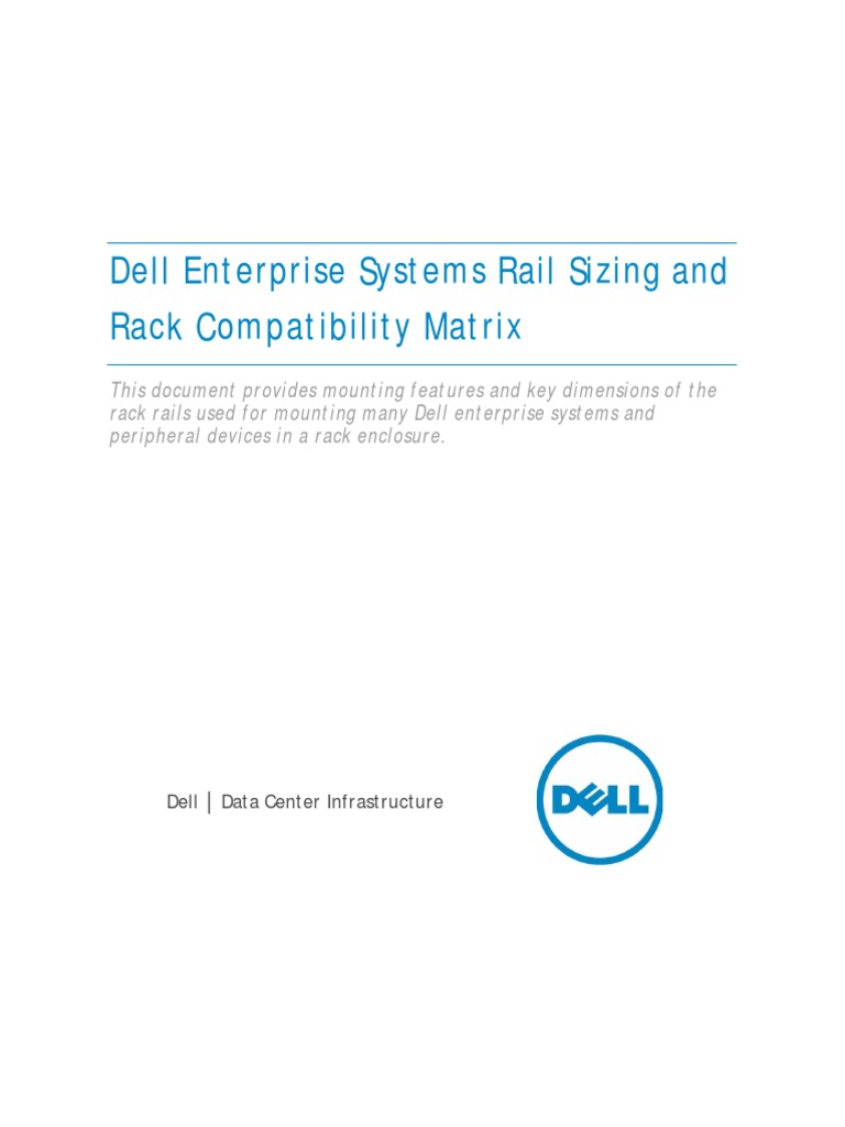 Rail Rack Matrix | Computer Hardware | Manufactured Goods