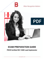 Pecb Iso 13485 Lead Implementer Exam Preparation Guide