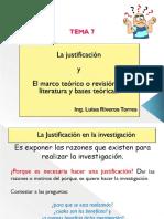 Clase 7 - Justificación y marco teoríco.pdf