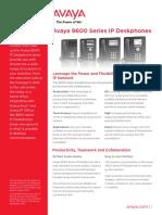 9600 Series Ip Deskphones - Brochure