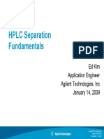 HPLC Separation Fundamentals -