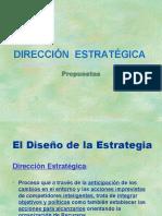 UII - Estrategia 2 Direccion Estrategica