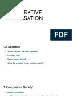 Co Operative Organisation