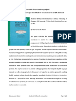 review academic writing an introduction