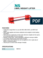 7MH7218 SIEMENS MILLTRONICS MWL WEIGHT LIFTER