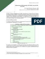 Índice de Pobreza Multidimensional (IPM-Colombia) 1997-2008
