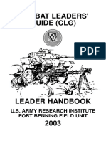 Combat Leaders Guide 2003