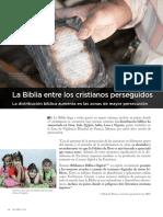 La Biblia Entre Los Cristianos Perseguidos